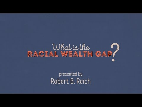 What is the racial wealth gap?