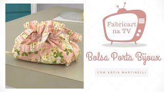 Bolsa Porta Bijoux com Kátia Martinelli