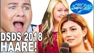 DSDS 2018 Die HAARE der Kandidatinnen Friseur Reagiert