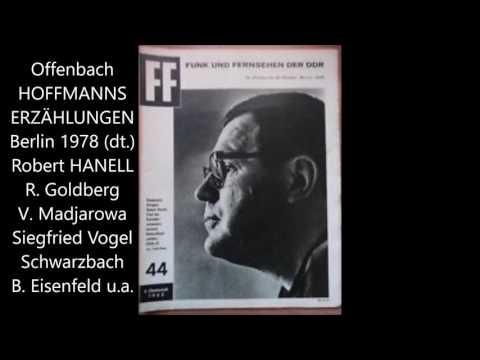 """Offenbach: """"Hoffmanns Erzählungen"""" (dt., Goldberg, Vogel, Hanell)"""