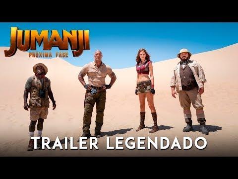Jumanji: Próxima Fase • Trailer Legendado