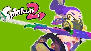 Sniper Scope-Only Battle! (Splatoon 2 Funny Moments)
