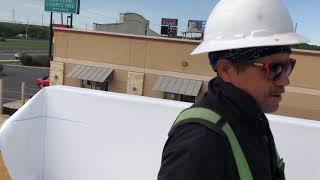 TPO Parapet Wall Installation