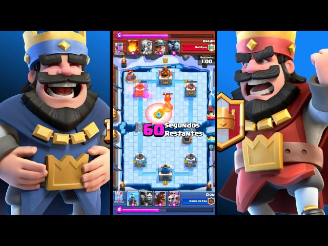 Clash Royale Replay - Pico Congelado