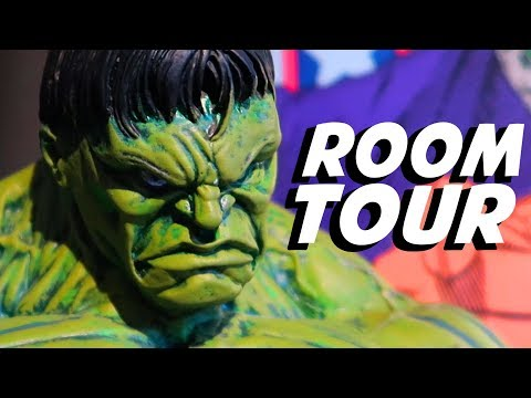 My Comic Book Room Tour!