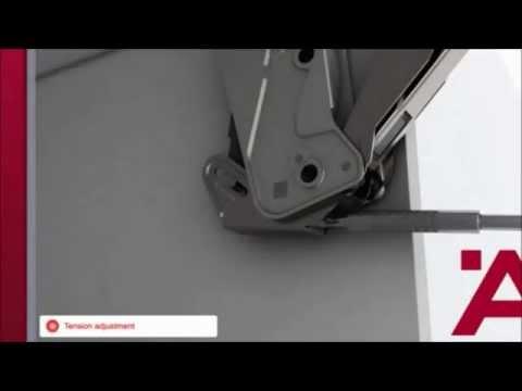 Inne rodzaje Podnośnik FREE Flap 1.7 - instrukcja montażu (Häfele) - YouTube PE74