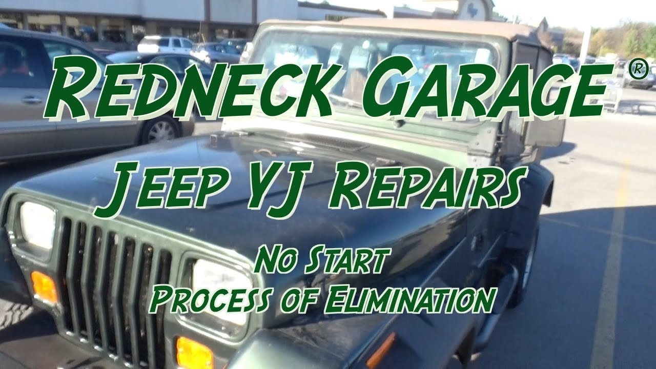 Jeep Wrangler Died - No Start Troubleshooting - Sad Maintenance Schedule