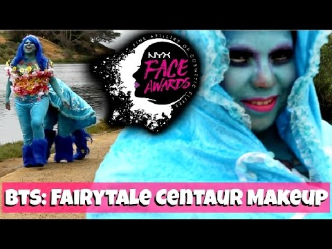 CHIT CHAT | NYXFACEAwards Centaur Fairytale behind the scenes + bloopers