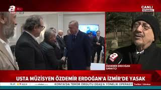 Sanatçı Özdemir Erdoğan'a saygsızlık! Başkan Erdoğan'ın doğum gününe katıldı lince maruz kaldı.mp3