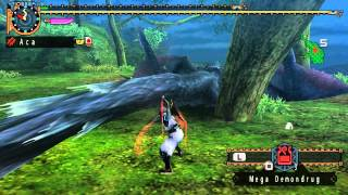MHFU G-Rank Nargacuga Dual Sword (Heroics)