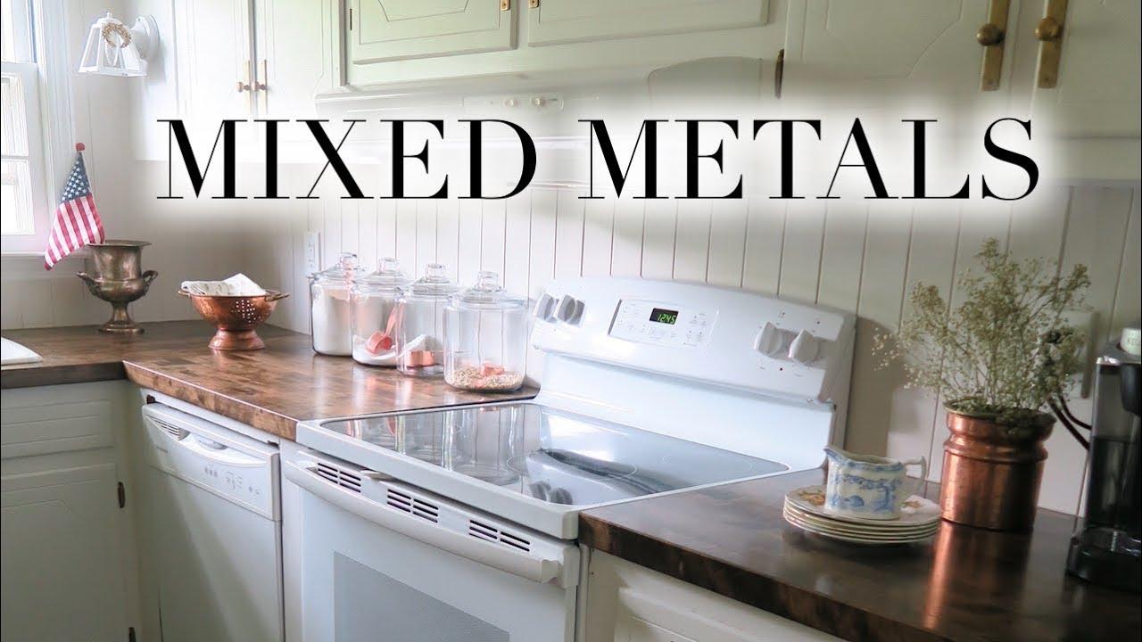 Mixing Metals In Kitchen Design