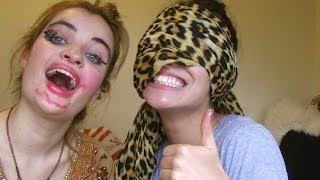 Blindfolded Make Up Challenge :) Thumbnail