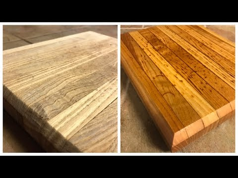 Refinish a Cutting Board!