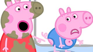 Peppa Pig Official Channel  George Pigs Clothes Have Got Holes In Them