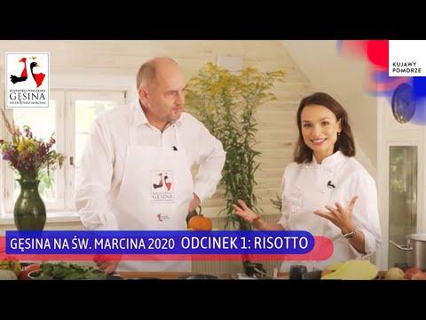 Gęsina na św. Marcina - gotujemy z Anną Starmach, drugi odcinek