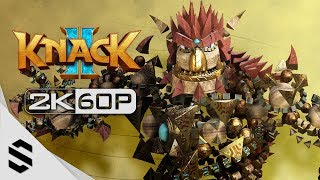 【 KNACK 2 】3小時電影剪輯版(中文字幕) - PS4 Pro劇情電影2K60FPS - 纳克2 - ふたりの英雄と古代兵団 - 最強2K無損畫質