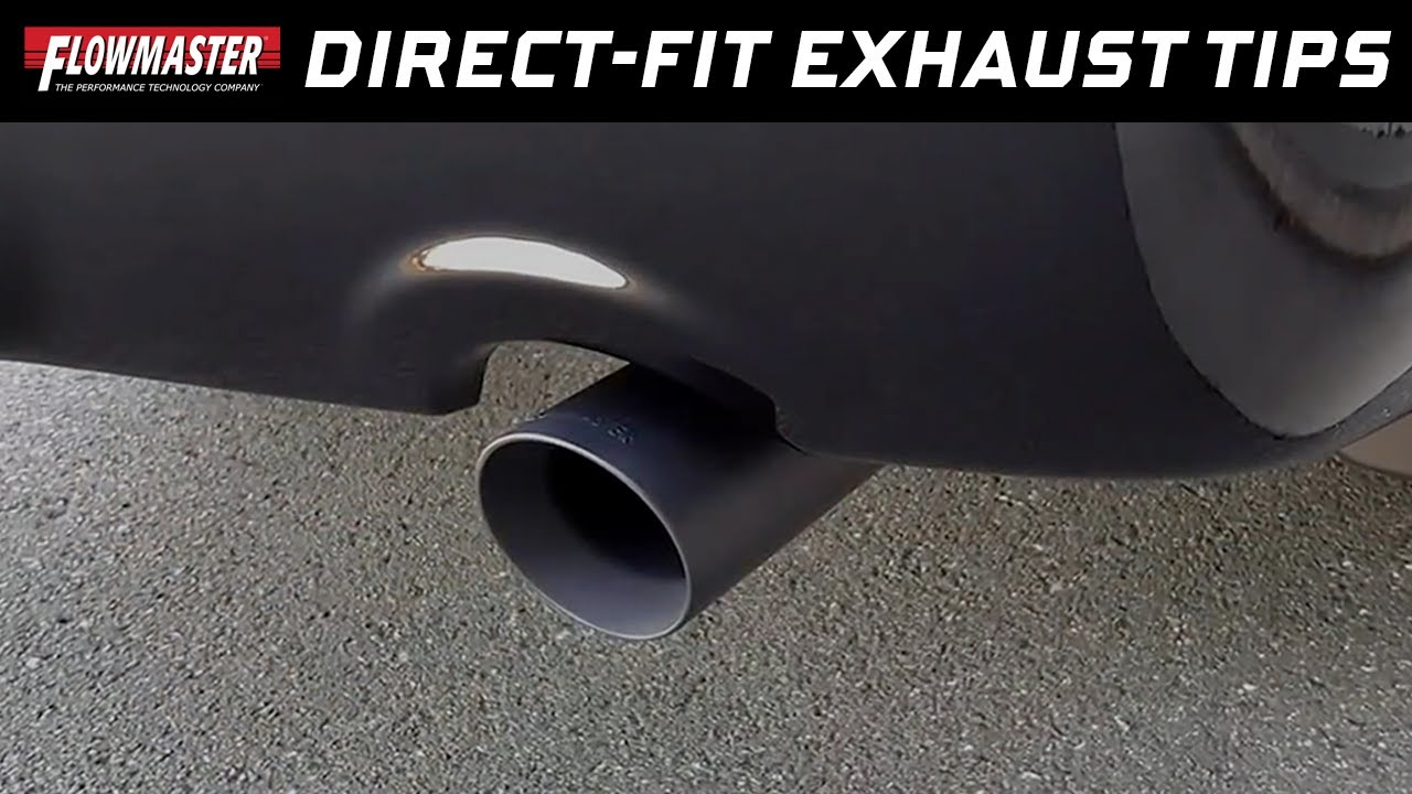 2009 19 ram 1500 5 7l hemi direct fit black stainless steel exhaust tips 15356b