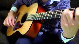 【伴奏屋TAB譜】 春よ、来い 松任谷由実 【ソロギター】 カポ=1 タブ...