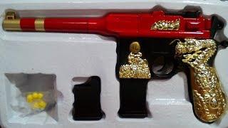 М-19 Пневматичний пістолет.Пластик.Іграшка.