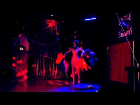 """Gurl Haggard  """"Rainbow Connection"""" Burlesque  @ Improv-a-Tease: Return of the Glitz"""