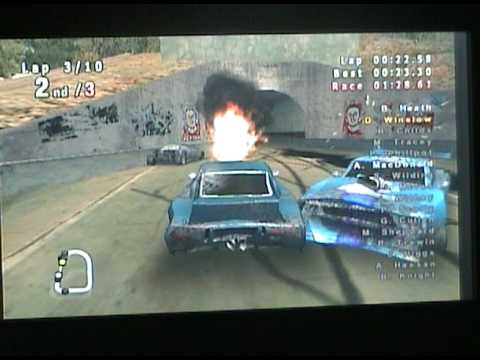 Crash N' Burn Team Kamikaze Detroit x1