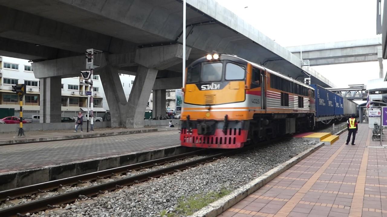 タイ国鉄南本線貨物列車 バンソ...