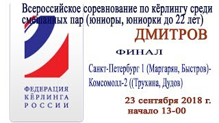ФИНАЛ. Санкт-Петербург 1 (Маргарян, Быстров)- Комсомолл-2 (Трухина, Дудов)