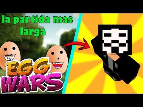 LA PARTIDA MAS LARGA DE EGGWARS !!!!! CASI GANO !!!!!