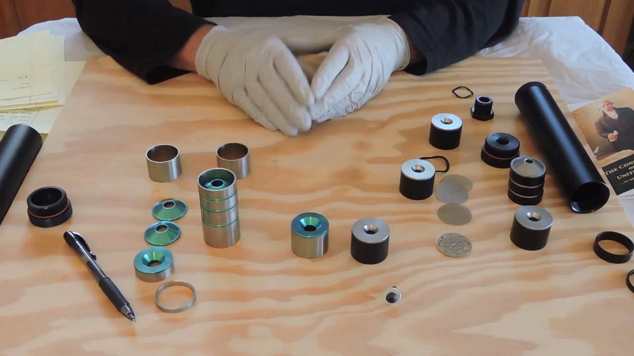 Hawk Innovative Tech 9mm Titanium Hybrid Solvent Trap with EZ Caliber Change
