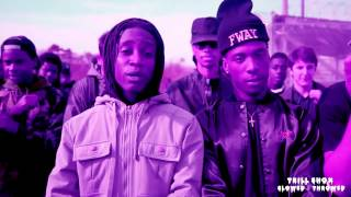 Denzel Curry - Threatz [Slowed & Throwed by Trill Shox][Video]