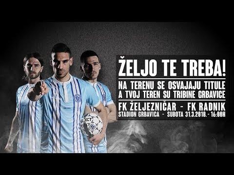 Sloboda - FK Željezničar (1/2 finala)