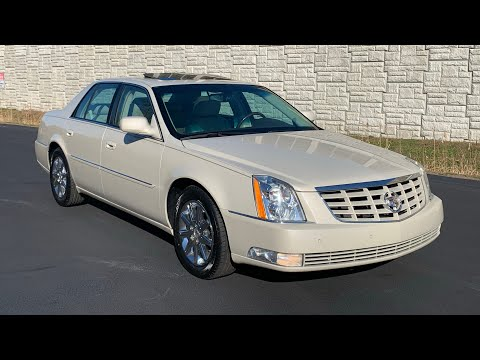 2011 Cadillac DTS Premium Package 26k Miles For Sale by Specialty Motor Cars Florida Car Low Mileage