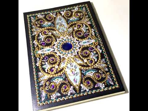 DIY Notebook Special Shaped 64 Pages A5 Diamond Painting Notebook