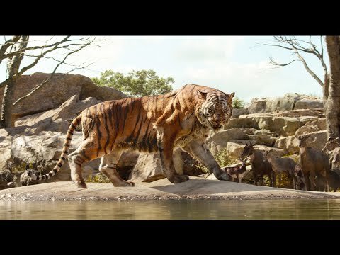 """Intro to Shere Khan"" Clip - Disney's The Jungle Book"