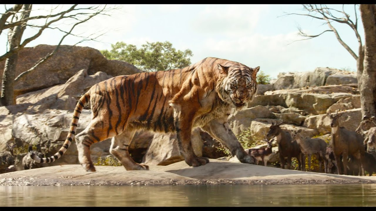 """Intro to Shere Khan"" Clip - Disney's The Jungle Book ..."