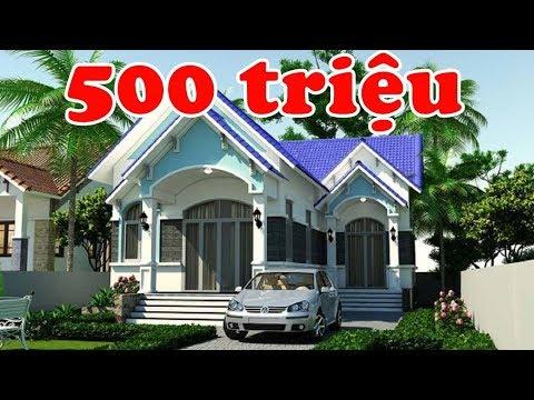 500 triệu thôi - mẫu nhà cấp 4 đẹp đáng xây