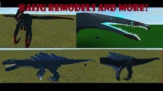 Roblox Dinosaurier Simulator - Kaiju und andere Dino Remodels! Lecks!