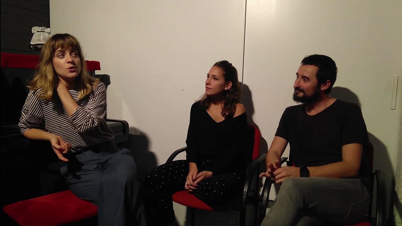 Entrevista a Alba Ribas, Cintia Ballbé i Sergio Matamala, de #LIFESPOILER. Teatralment Blog