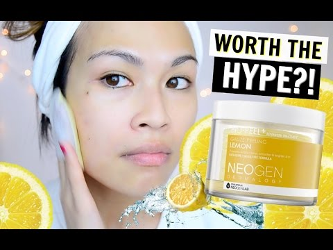 Neogen Dermalogy Bio-Peel Gauze Peeling Lemon REVIEW + Anti Aging Skincare Routine