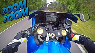2017 Suzuki GSXR1000 Test Ride + Wheelies