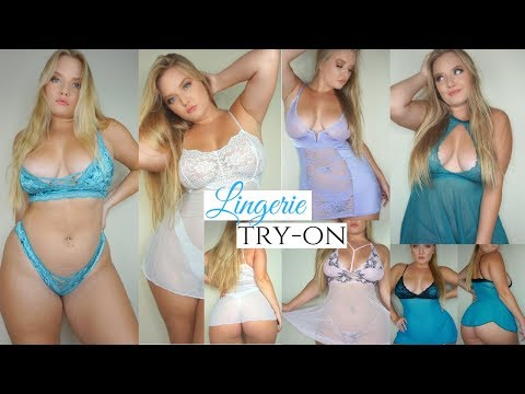 Adam And Eve Lingerie Haul Review Try-on thumbnail