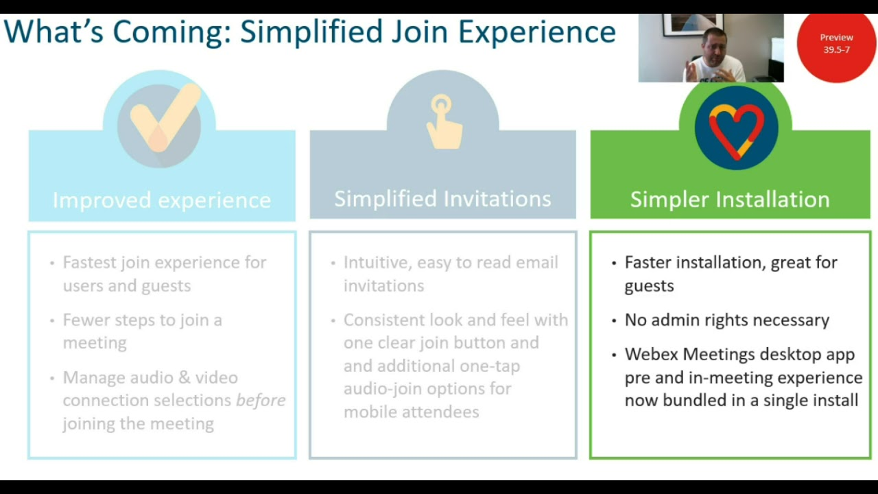 Big News! The Webex Meeting Join Experience Changes in 39 7