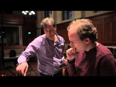 Behind the scenes at Philippe Graffin and Jelger Blanken's recording sessions