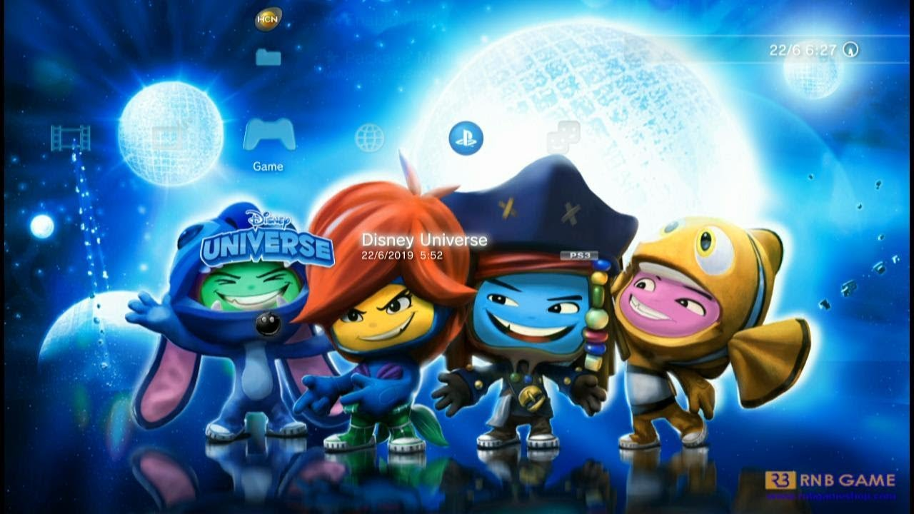 Repeat Download and Install Game PS3 Disney Universe PKG by RNB GAME