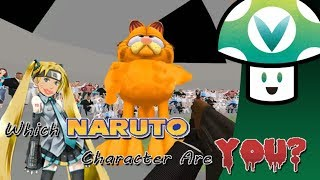 [Vinesauce] Vinny - Which Naruto Character Are You?