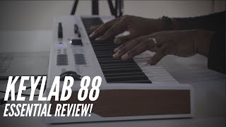 This is The Best 88 Key Controller For The Money! |Arturia Keylab 88 Essential Review! (2020)|
