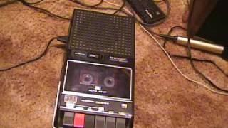 Realsitic CTR-41 vintage cassette recorder, Classic!