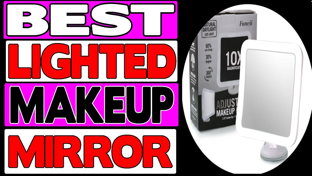 quality design 2aa09 0e44f Fancii 10x Magnifying Lighted Makeup Mirror Review