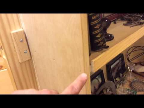 How to make a hidden door into secret room