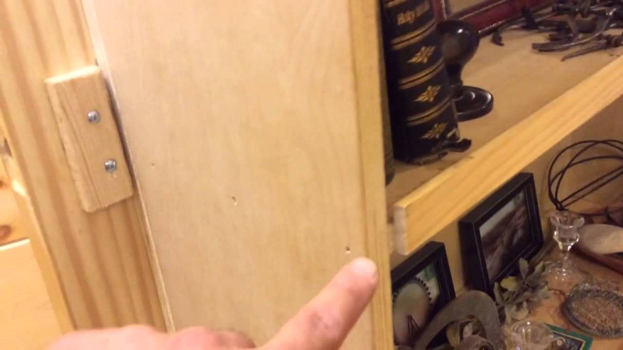 How To how to build door pics : How to make a hidden door into secret room - YouTube